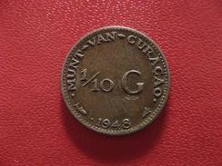 Curacao - Antilles Neerlandaises - 1/10 Gulden 1948 1668 - Curacao