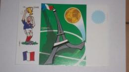 FOOT - Carte Mondial France 1998 - éditée Pour Le 10e Festival CP D'Enghein - Voir Photos Recto/verso - France