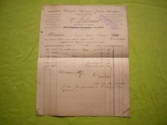 Facture 1887 Comptoir Horlogerie Suisse V. Lalanne à Paris - Francia