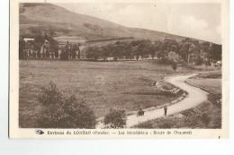 19 Lonzac Les Monedieres Route De Chaumeil Animée - Unclassified