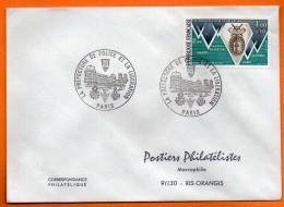 MAURY N° 1799 LA LIBERATION     ( Cachet Concordant ) PARIS       Lettre Entière N° AA 246 - Marcophilie (Lettres)