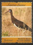 Sierra Leone  - MNH ** - Abdim´s Stork ( Ciconia Abdimi ) - Storks & Long-legged Wading Birds