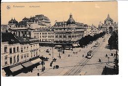 Antwerpen - Anvers - De Keyserlei - Tram - Chocolat Duc, Gelaufen Mit Feldpost Sonderstempel 24.6.1917 - Antwerpen