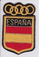 PARCHE DE TELA OLIMPICO DE LA BANDERA DE ESPAÑA - Escudos En Tela