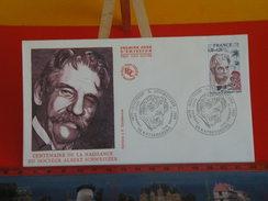 FDC > 1970-1979 > Docteur Albert Schweitzer - 68 Kaysersberg - 11.1.1975 - 1er Jour. Coté 4 € - 1970-1979