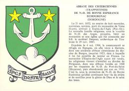 24110] Dordogne-ECHOURGNAC (Saint Aulaye)  Abbaye  Des Cisterciennes (Trappistes) N.D De Bonne Espérance *PRIX FIXE - France
