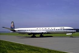 Aviation Postcard-665- OLYMPIC AIRWAYS COMET 4  SX-DAN - 1946-....: Moderne