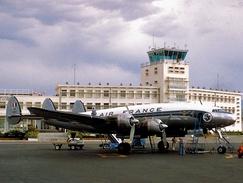 Aviation Postcard-666- AIR FRANCE Lockheed L749 F-BAZO - 1946-....: Moderne