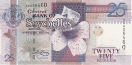 (B0154) SEYCHELLES, 1998 (ND). 25 Rupees. P-37. UNC - Seychelles