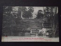 ANGKOR-WAT (Angkor Vat, Cambodge) - Escalier Latéral Nord Accédant à La Terrasse De L'Entrée Principale - Non Voyagée - Cambodge