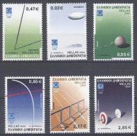Athènes Athen Olympic Games Athens 2004, Greece Grèce Griechenland Grecia 2003 Sports Equipment MNH(**) - Ete 2004: Athènes