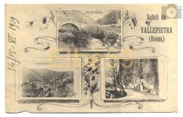 Vallepietra (Roma), Cartolina Multiview, Saluti Da..., Nuova - Altre Città
