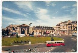 BORDEAUX - GIRONDE - PLACE DE LA VITCTORIE - 1968 - AUTOBUS BUS - PULLMAN - Bordeaux
