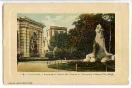 TOULOUSE - Fontaine Du Jardin Des Plantes Et Monument D'Armand Sylvestre - Toulouse