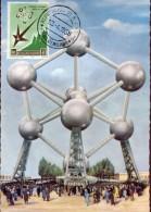 15479 San Marino, World Exhibition Of Bruxelles 1958, Atomium