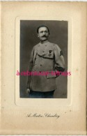 Photo Cartonnée-soldat Du 8e Régiment-photo A. Maitre à Chambéry - Guerre, Militaire