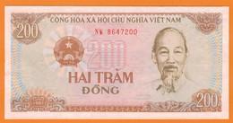 Nu-Viêt-Nam-200 Dong 1987 ** NEUF** - Vietnam