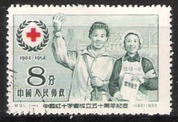 Chine  : N° Yvert  1033 - Oblitéré - 50 éme Anniversaire De La Croix Rouge . - Gebruikt
