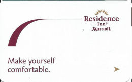 Residence Inn Marriott - Make Yourself Comfortable - Hotel Keycards