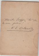 Discorso Onorevole V. E. Orlando Alla Camera 18.2.1918 Monte GRAPPA - War 1914-18