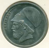 GREECE, 20 DRACHMAI 1982  B DEMOCRACY, UNC - Grecia