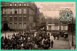 Sedan  - Ardennes -  Cérémonie Patriotique Du 3 Septembre 1905 - Place Du Rivage   - Animée - - Sedan