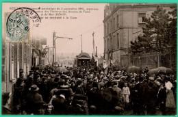 Sedan  - Ardennes -  Cérémonie Patriotique Du 3 Septembre 1905 - Réception Par Le Maire Près De La Gare  - Animée - - Sedan