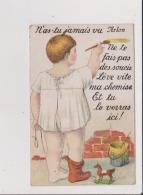 CARTE A SYSTEME - N'as Tu Jamais Vu ARLON Ne Te Fait Pas De Soucis Lève Vite Ma Chemise Et Tu Le Verras Ici ! - Arlon