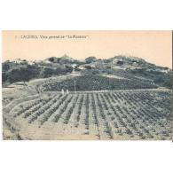 CCRTP4066P-LFTD12813.Tarjeta Postal DE CACERES.Campos,cultivos,casas  Y Vista General De LA MONTAÑA En CACERES - Cáceres