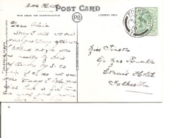 Grande-Bretagne ( CP De 1910 De Folkestone Vers L'intérieur à Voir) - Lettres & Documents