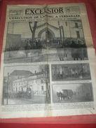 JOURNAL EXCELSIOR  22 FEVRIER 1922   /  VERSAILLES L EXECUTION DE LANDRU / JOURNAL 6 PAGES - Other