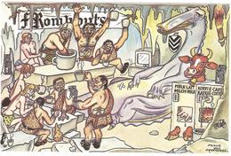 Koffies Rombouts - Illustratie Frans Van Immerseel - Pubblicitari