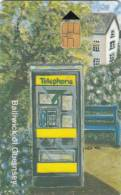 GUERNSEY ISL. - Telephone Kiosk(KX 100-1992), First Issue 3 Pounds, Tirage 24000, Used - United Kingdom