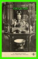 SÈVRES  (92) - VITRINE DU GRAND SALON (XIX SIÈCLE) - FABRICATION DE SÈVRES - CIRCULÉE EN 1909  - COLLECTION F. FLEURY - - Sevres