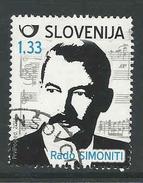 Slovenie, Mi 1042  Jaar 2014, Hoge Waarde,  Gestempeld,  Zie Scan - Slovénie