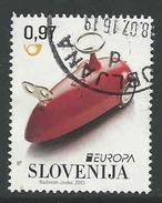 Slovenie, Yv 965  Jaar 2015, Gestempeld,  Zie Scan - Slovénie