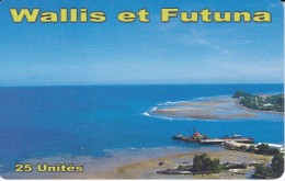 TARJETA DE WALLIS ET FUTUNA DE 25 UNITES DEL AÑO 2014 - Wallis Y Futuna
