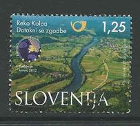 Slovenie, Mi  999  Jaar 2013, Hoge Waarde,   Gestempeld,  Zie Scan - Slovénie
