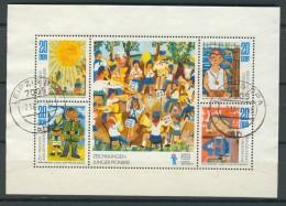 BL6-266 DDR, EAST GERMANY KLB MI 1991-1994 CHILDREN'S DRAWINGS. USED, OBLTERE, GEBRUIKT. - [6] Oost-Duitsland