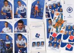 Jeu 32 Cartes Française Des Jeux. équipe Cycliste Professionnelle 2005. + 26 Cartes à L'effigie Des Coureurs. - 32 Cartes