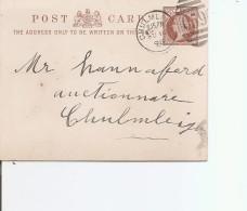 Grande-Bretagne ( EP De 1898 De Chulmleigh Vers L'intérieur à Voir)