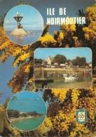 85. CPM. Vendée. Ile De Noirmoutier. Le Port De L'Herbaudière Et Le Passage Du Gois (3 Vues) - Ile De Noirmoutier