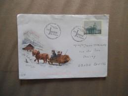 LES JUSTES DE FRANCE PREMIER JOUR 18.01.2007 74 THONON-LES-BAINS - Postmark Collection (Covers)