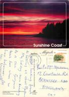Turnagain Island, Sunshine Coast, British Columbia, Canada Postcard Posted 1997 Stamp - British Columbia