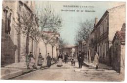 CPA GARD..MARGUERITTES.BOULEVARD DE LA MADONE - France