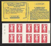 France Carnet Daté 2874 C6 Marianne De Briat  Livraison Gratuite - 1989-96 Marianne (Zweihunderjahrfeier)