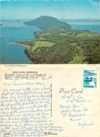 Lummi Island, Washington, United States US Postcard Posted 1977 Stamp - Altri