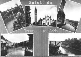 SALUTI DA TREZZO SULL'ADDA (MI) - F/G - N/V - Other Cities
