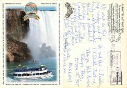 Niagara Falls, Ontario, Canada Postcard Posted 1993 Meter - Niagara Falls