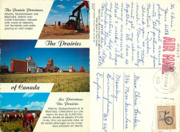 Prairies, Alberta, Canada Postcard Posted 1985 Stamp - Alberta